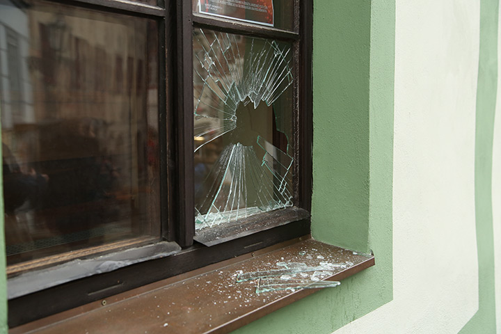 A2B Glass are able to board up broken windows while they are being repaired in Woolwich.